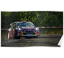 Wales Rally GB Poster
