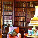 Reading Corner in Antony House by magicaltrails