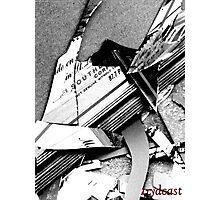 Seven years of broken mirror Photographic Print