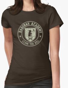 Higher Education System Womens Fitted T-Shirt