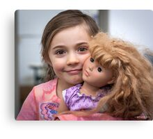My Doll Friend Canvas Print