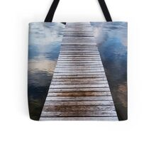 Sunrise at the Boat Shed Tote Bag