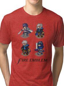 Fire Emblem Awakening Sprites Tri-blend T-Shirt