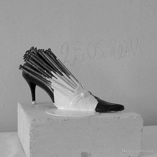"Object "" Uccer  Shoe  "" by Natasha  Perova"