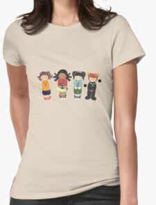 Adventure Girls Womens Fitted T-Shirt