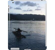 Jamaican Bamboo Raft iPad Case/Skin