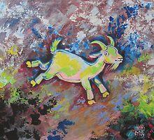 Spring Goat by Ellen Marcus
