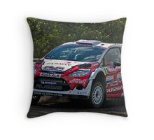 Wales Rally GB Throw Pillow