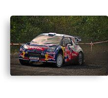 Wales Rally GB Canvas Print