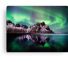 Aurora at Horn. Canvas Print