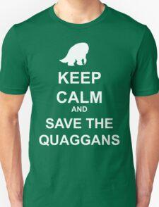 Keep Calm and save the quaggans Unisex T-Shirt