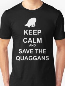 Keep Calm and save the quaggans T-Shirt