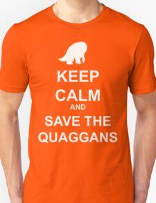 Keep Calm and save the quaggans T-Shirt