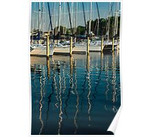 Lines in the Masts Poster