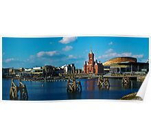 Cardiff Bay. Poster