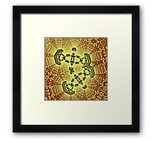 Geometric Patterns No. 54 Framed Print