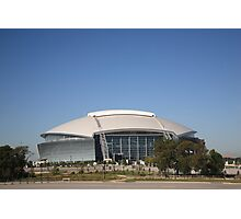 Dallas Cowboys Stadium Photographic Print