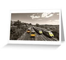 Aller Panoramic  Greeting Card
