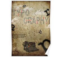 Simply typography Poster