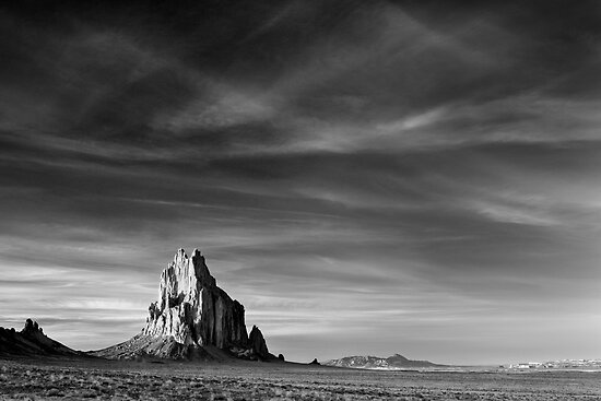 Shiprock, New Mexico by Justin Foulkes