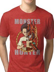 Monster Hunter Life Tri-blend T-Shirt