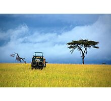 Masai Mara Game Drive  - Kenya Photographic Print