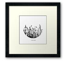 i love nature Framed Print