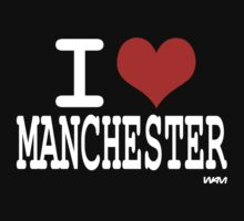 I love Manchester Baby Tee