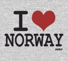I love Norway by WAMTEES