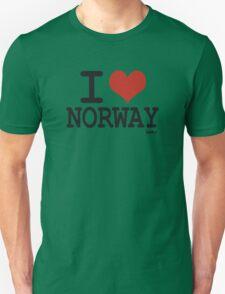 I love Norway Unisex T-Shirt