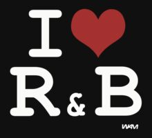 I love R and B One Piece - Short Sleeve