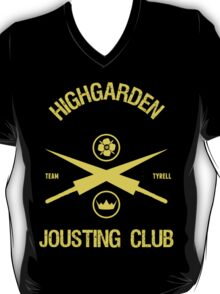 House Tyrell Jousting Club Game of Thrones  T-Shirt
