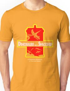 Dinosaurs on a Spaceship Unisex T-Shirt