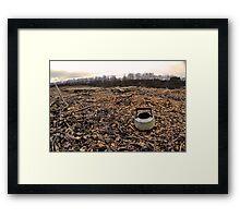 Old Kettle [Sepia Haze] Framed Print