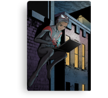 Ultimate Spider-Man Miles Morales Canvas Print