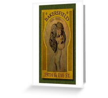 Bakersfield Arts District Greeting Card