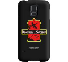 Dinosaurs on a Spaceship Samsung Galaxy Case/Skin