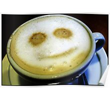 Happy Coffee Poster