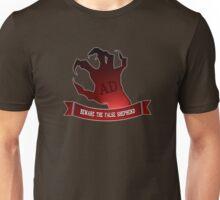 Beware the false shepherd.. Unisex T-Shirt