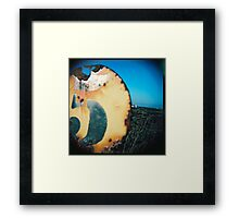 five Framed Print