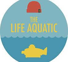 The Life Aquatic with Steve Zissou - Sticker by Zach Moore