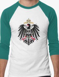 Coat of Arms of the German Empire (1889-1918) Men's Baseball ¾ T-Shirt