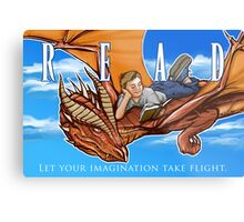 Imagination Take Flight Metal Print