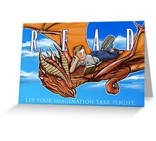 Imagination Take Flight Greeting Card
