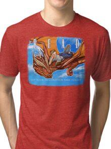 Imagination Take Flight Tri-blend T-Shirt