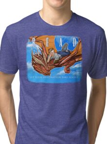 Imagination Take Flight Tri-blend T-Shirt