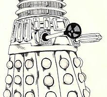 Dalek by Monochrome-Bib