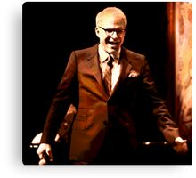 The Posterization of Steve Martin  Canvas Print