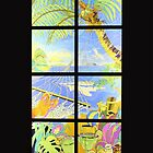 Tropical Vacation iPhone iPod Cover Case by wlartdesigns