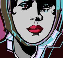 Bessie Coleman Portrait 1920s Sticker